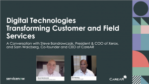 CareAR and Xerox Breakout Video ServiceNow Knowledge 2020