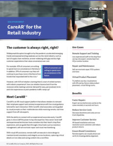 CareAR for Retail